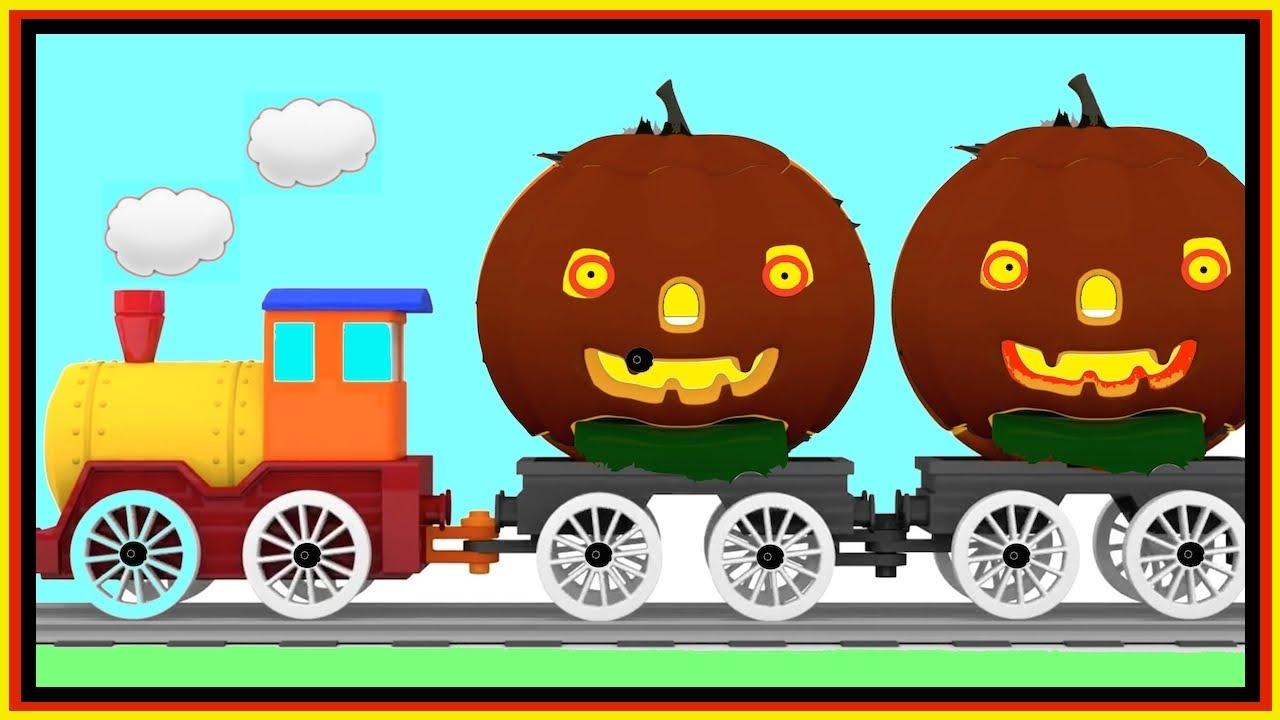 Trick or Treat? HALLOWEEN Cartoon Cars Fire Truck Cartoons for ...