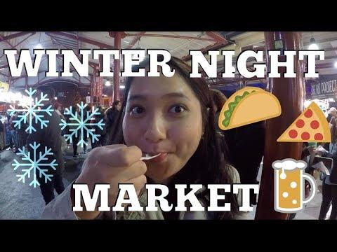 Main Ke Melbourne Winter Night Market