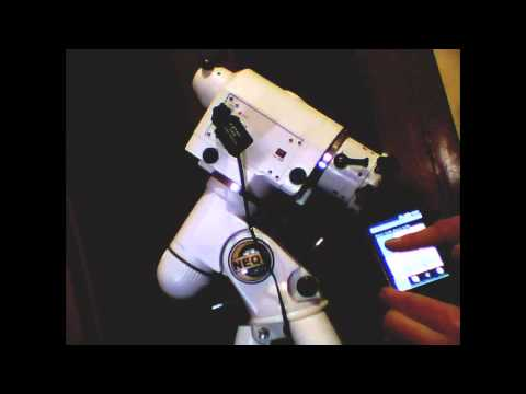 Bluetooth telescope control Android & Windows
