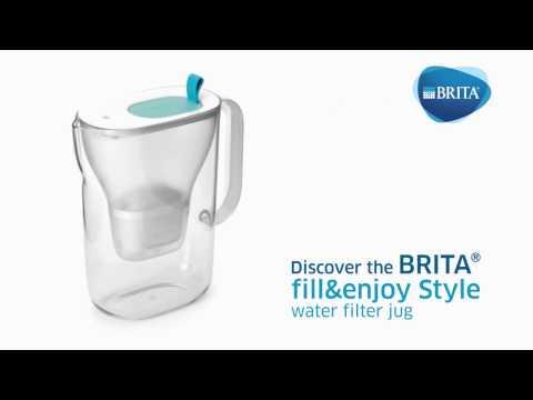 BRITA Style Water Filter Jug - YouTube