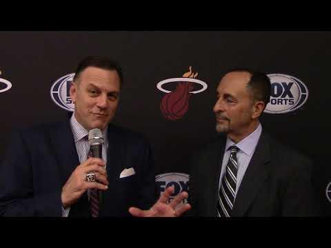 NBA: TV-Legende Eric Reid (Miami) plaudert aus dem Nähkästchen