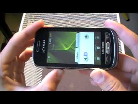 Review of Samsung Advance SGH-A885