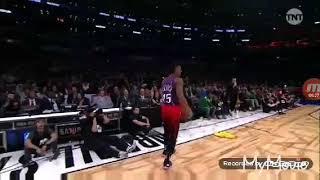 Donovan Mitchell vinsanity to win dunk contest/2018 NBA Slam dunk contest...