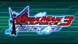 Mega Man Starforce 3: Black Ace- Title Screen