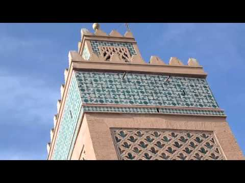Visit the Koutoubia Mosque in Marrakech, Morocco