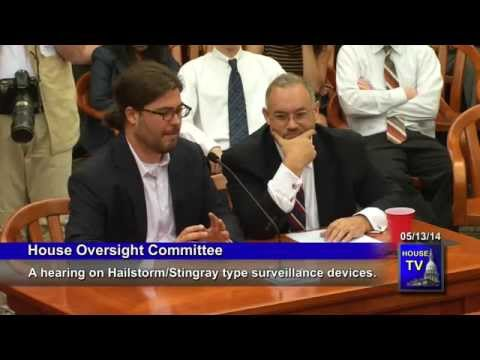 Michigan Oversight Committee Hearing on StingRay, Hailstorm 5.13.14