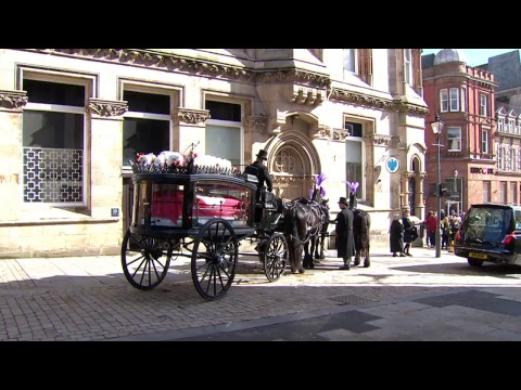 The Funeral Of Councillor Elias Masih Mattu. Mayor of the City of Wolverhampton.