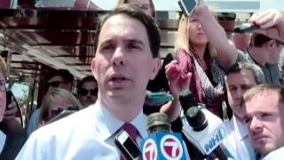 Walker says nothing illegal about campaign donations