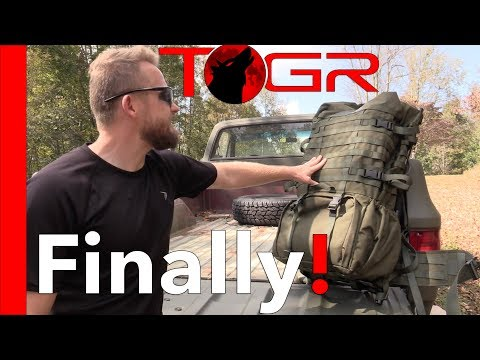 Finally A Comfortable Military Pack! - Varusteleka Särmä TST RP80 Recon Pack – Review