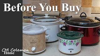 Before You Buy A Slow Cooker