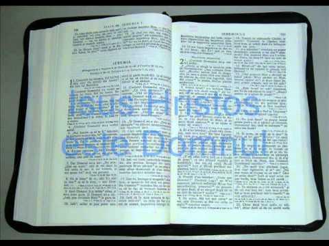 24 - IEREMIA - Vechiul Testament - Biblia Audio Romana
