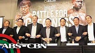 Bakbakang Pacquiao-Mayweather, ipalalabas sa tatlong malalaking networks sa free TV