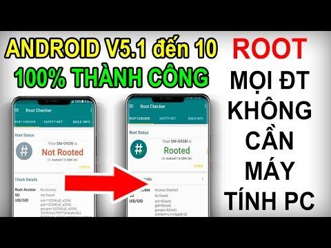 #31 Hướng Dẫn Cách ROOT Mọi điện Thoại Android 7,8, 9... 100% Thành Công Không Cần Máy Tính 2020