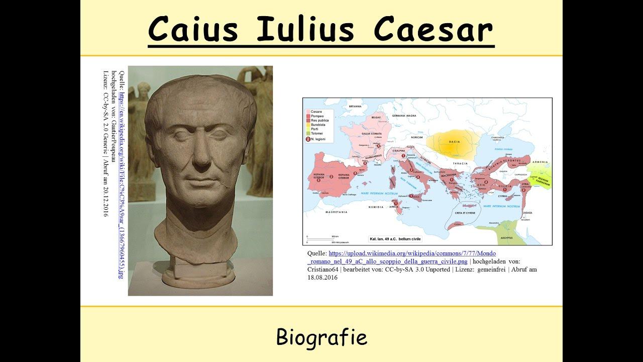 caius iulius caesar casar - Julius Casar Lebenslauf