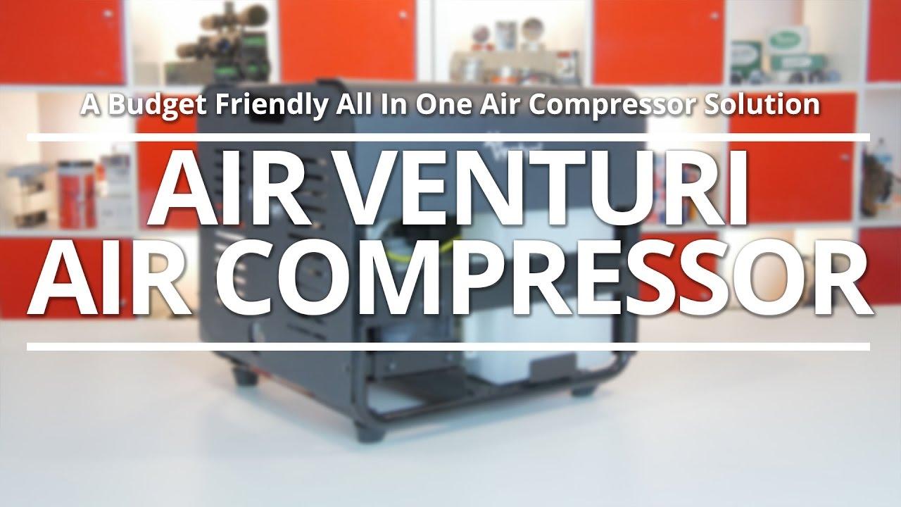 Air Venturi Air Compressor, Electric, 4500 PSI/300 Bar