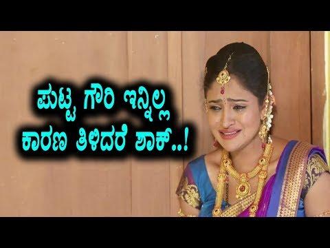 New Twist in Puttagowri Maduve Serial | Kannada Serial Puttagowri Maduve  | Top Kannada TV