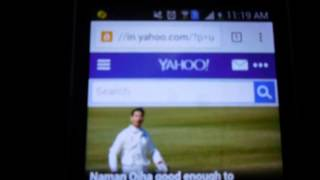 how to login yahoo mail by Android mobile phone