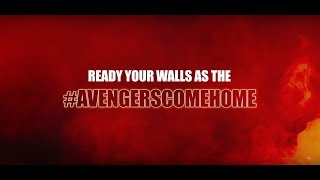 Official Marvel Avengers Wall Stickers by Asian Paints