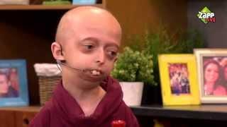 Bjorn over progeria en zijn bijzondere wens | Zapplive | NPO Zapp