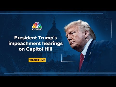 Trump impeachment hearing: Fiona Hill and David Holmes testify in impeachment probe – 11/21/2019