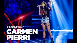 "Carmen Pierri  ""Fa che non sia mai"" - Blind Auditions #3 - TVOI 2019"