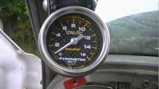 01 Cummins: Boost Gauge & Pyrometer Install (07/13/12)