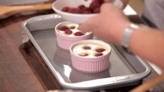 Cadbury Kitchen: White Chocolate And Raspberry Creme Brulee