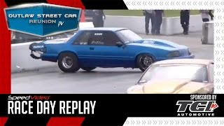 Joe Johnson Crashes During X275 Qualifying Outlaw Street Car Reunion IV 2017