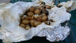 Как приготовить молодой картофель в фольге на гриле