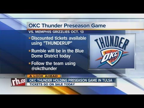 OKC Thunder mascot Rumble visits the morning show