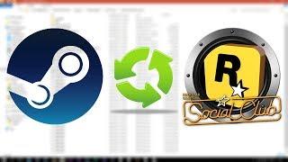 Gta 5 Steam Dosyaları Sociale Nasıl Çevirilir  ♻