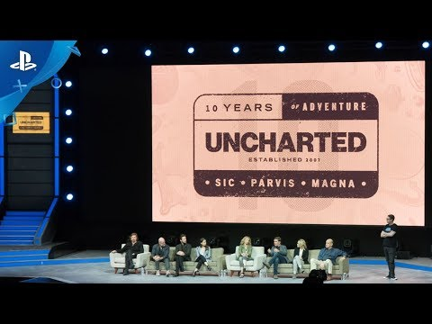 Uncharted 10th Anniversary Cast Panel  PSX 2017