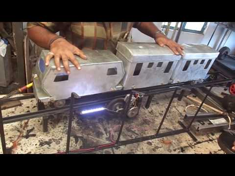 Mechanical engineering students projects---Free energy frm railway track