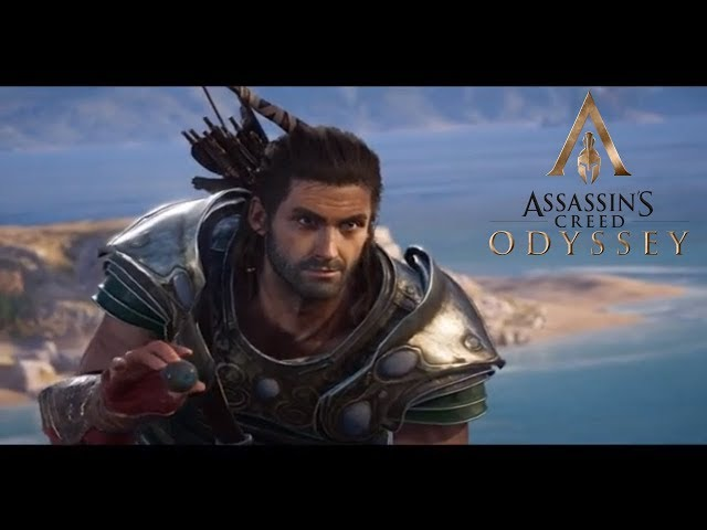 Alexios Inserts Obsidian Eye Into Goats Ass Cutscene | Assassins Creed Odyssey Funny Cutscenes