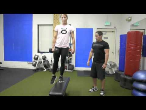 Lateral Step up - Leg Strengthening Exercise - YouTube