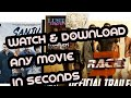 DOWNLOAD ANY LATEST MOVIE IN SECONDS || 2018 || BOLLYWOOD + HOLLYWOOD