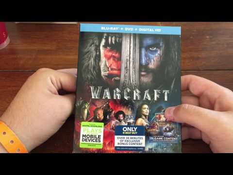 Warcraft (Best Buy Exclusive) Blu-Ray Unboxing streaming vf