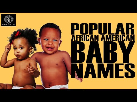 Black Excellist:  Most Popular African American Baby Names