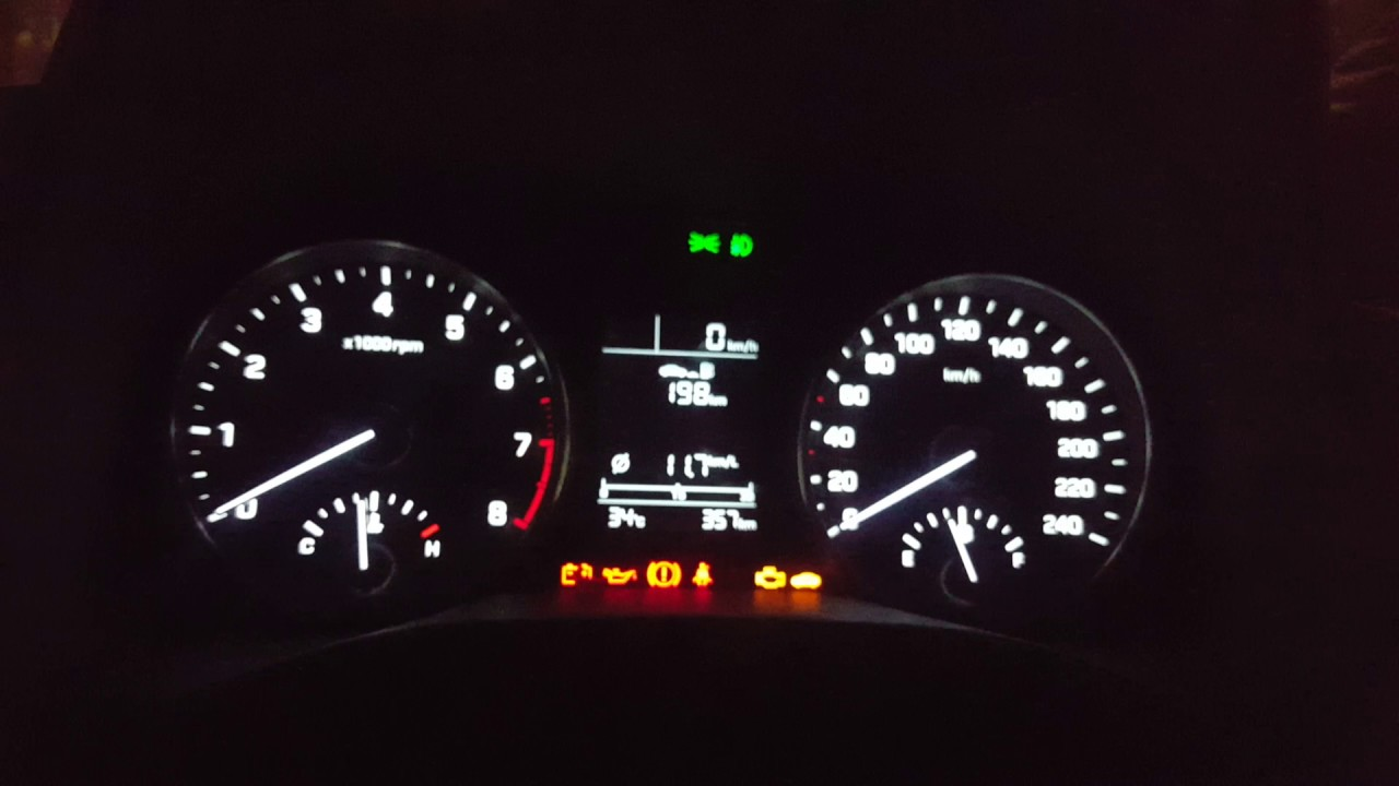 Elantra U0026 39 S Instrument Cluster Lights