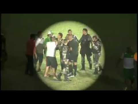 Vídeo da confusão no jogo entre Nacional de Patos x CSP