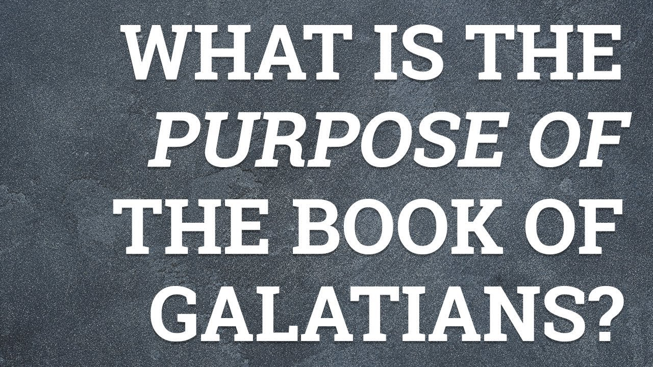 background of the book of galatians