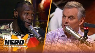 Download Deontay Wilder: 'I'm a knockout artist,' talks mental and physical prep for Ortiz | PBC | THE HERD Mp3 and Videos