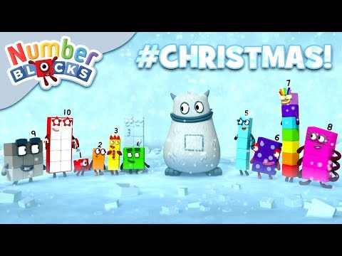 Numberblocks - Winter Wonderland | Learn to Count | #Christmas Time!