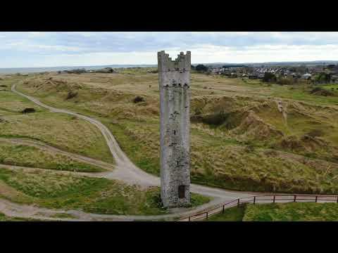 Drogheda Ireland - drone footage in 4K.