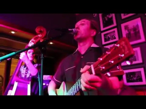 Doggone Trio feat. Larry Peninsula on Drums at Petrelli Saloon, Oulu 2015 - Set 1