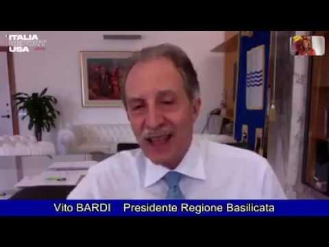"Presidente Bardi: ""Basilicata, si riparte dal..."