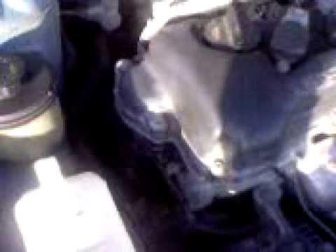Nissan Almera N15 2.0D CD20E engine sound