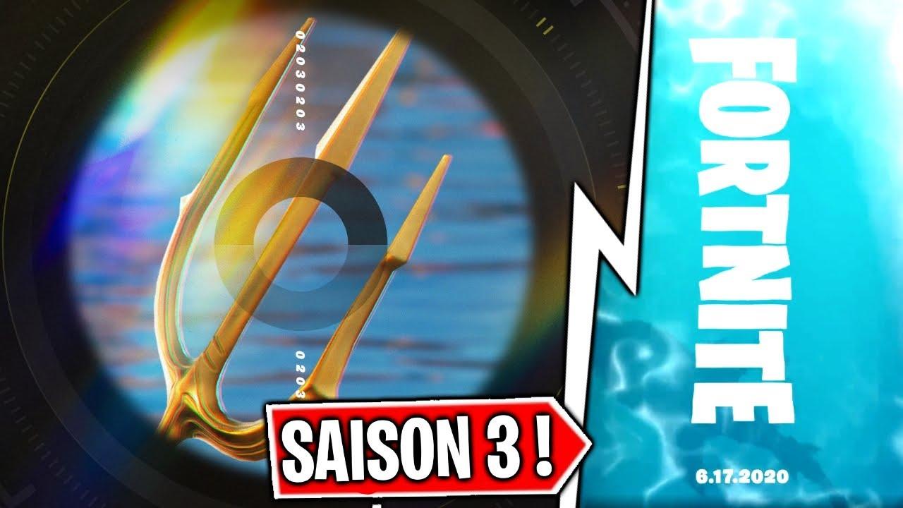 FORTNITE ANNONCE DÉJÀ LA SAISON 3 ! ( Aquaman ! )