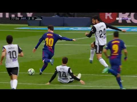 631. Lionel Messi vs Valencia (Home) 17-18