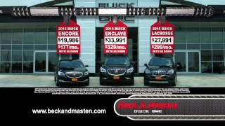 Beck & Masten Buick Summer Sizzle Red Tag Sale Event June 2015